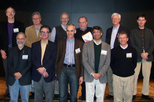 Photo of speakers from 2010 Workshop on Electrochemistry