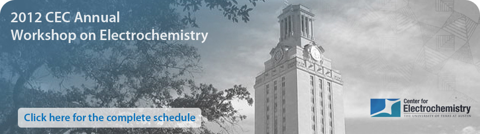 header image for Workshop on Electrochemistry