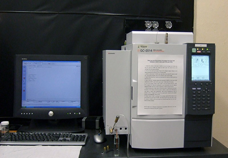 gas chromatograph fuel cell gas analyzer